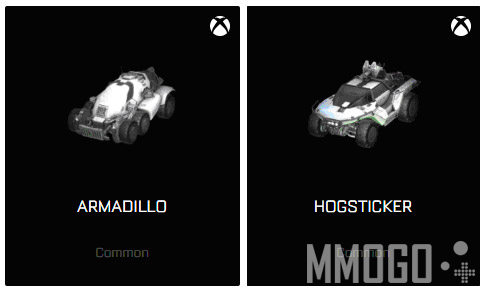 Two exclusive cars on Xbox(Armadillo and Hogsticker).