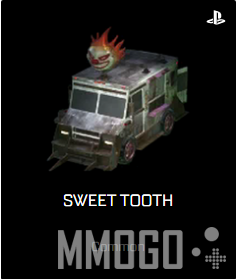 One exclusive car on PS(Sweet Tooth).
