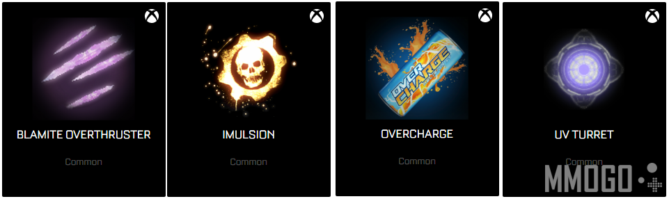 4 exclusive common boosts for xbox one version Rocket League