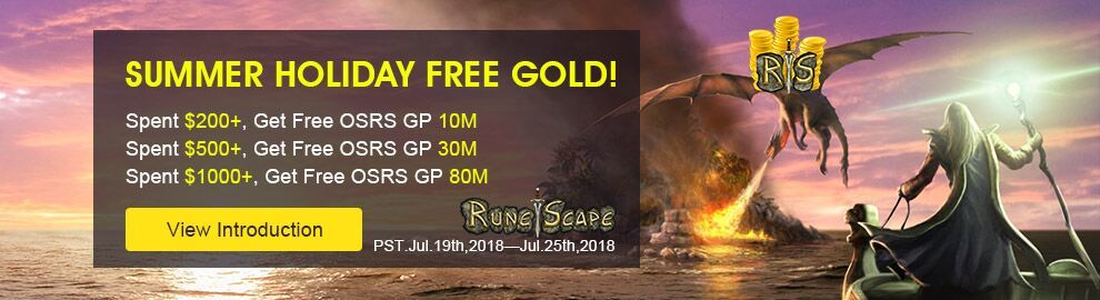 2018 SUMMER HOLIDAY FREE GOLD