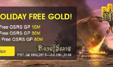 2018 SUMMER HOLIDAY FREE GOLD