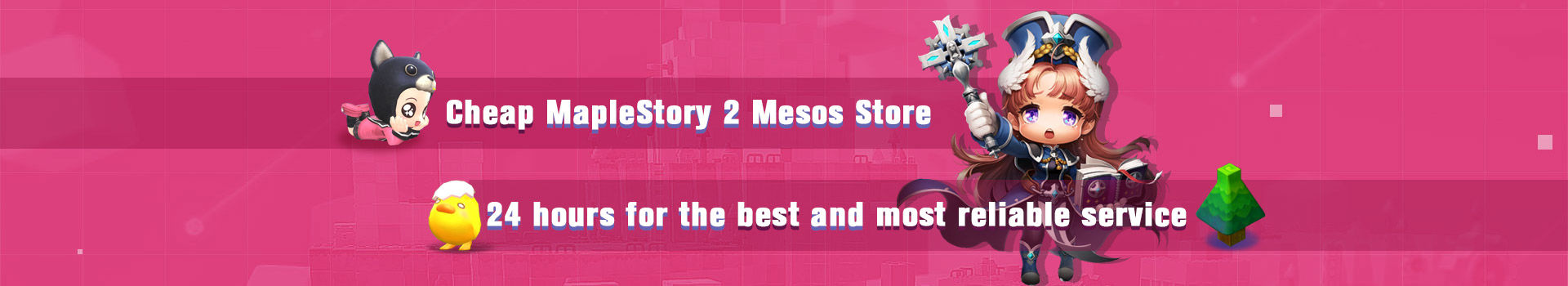 Cheap MapleStory 2 Mesos Store