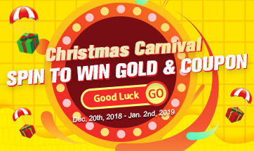 Christmas 2018 Carnival Lottery