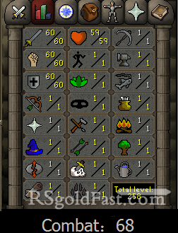 60 Attack/60 Strength/60 Defence