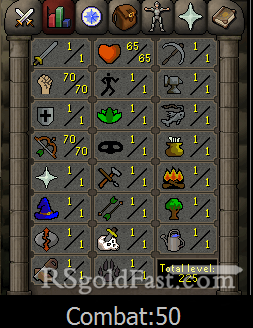Pure Account 70 Strength/70 Ranged