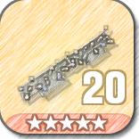 (20)Wall Spikes-5 Stars
