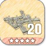 (20)Wooden Floor Spikes-5 Stars
