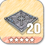 (20)Floor Freeze Traps-5 Stars