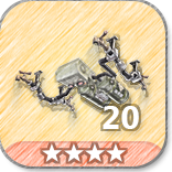 (20)Ceiling Gas Trap-4 Stars