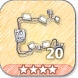 (20)Wall Lights-4 Stars