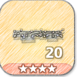 (20)Wall Spikes-4 Stars