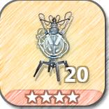 (20)Patrol Wards-4 Stars