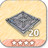 (20)Floor Freeze Traps-4 Stars