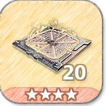 (20)Flame Grill Floor Traps-4 Stars