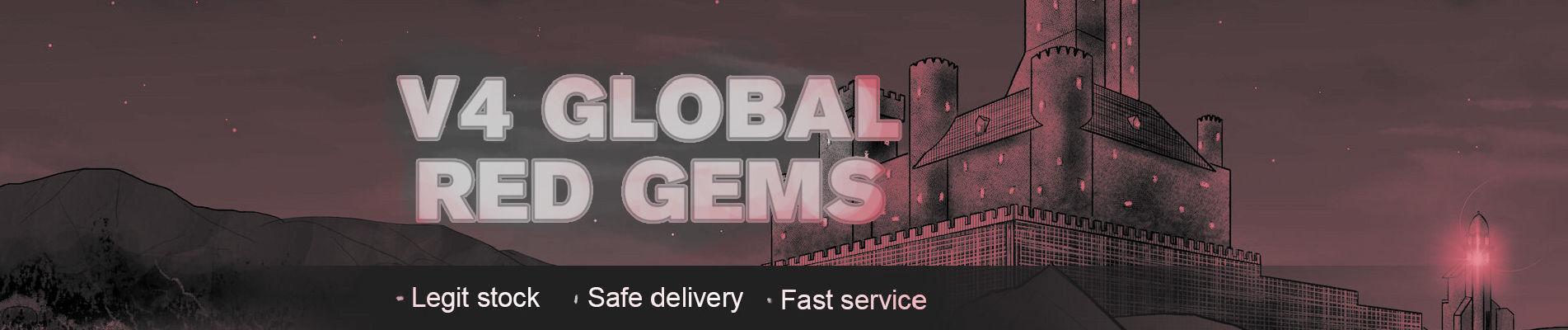 V4 Global Red Gems