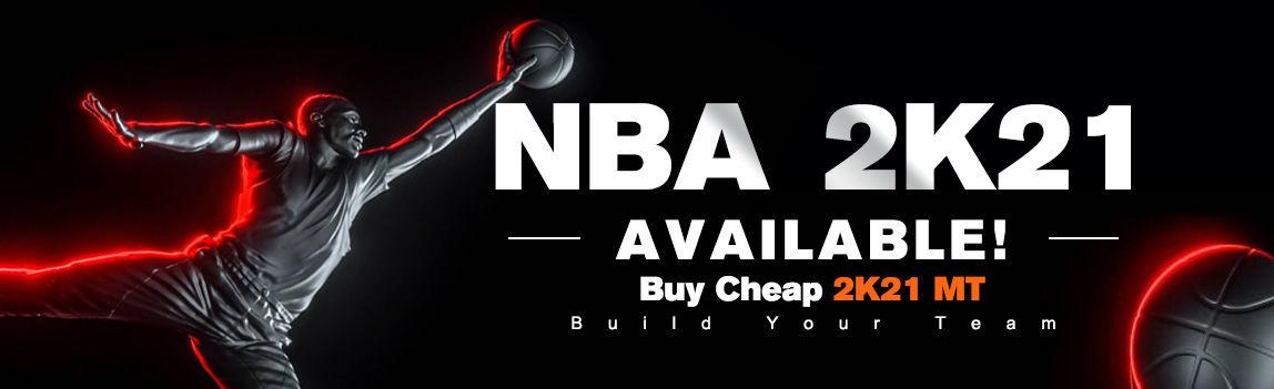 NBA 2K21 AVAILABLE!